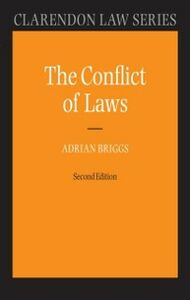 Ebook in inglese Conflict of Laws -, -