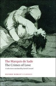 Foto Cover di Crimes of Love, Ebook inglese di Marquis de Sade, edito da Oxford University Press, UK