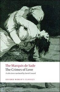 Ebook in inglese Crimes of Love de Sade, Marquis
