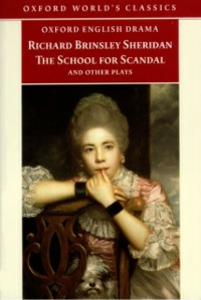 Ebook in inglese School for Scandal and Other Plays Sheridan, Richard Brinsley