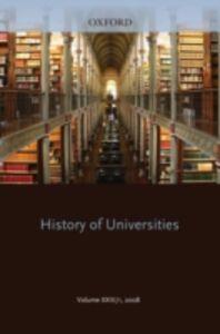 Ebook in inglese History of Universities: Volume XXIII/1 -, -