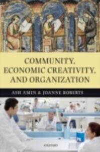 Ebook in inglese Community, Economic Creativity, and Organization