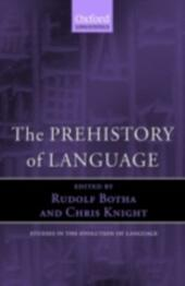 Prehistory of Language