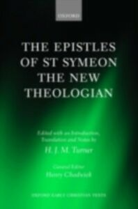 Foto Cover di Epistles of St Symeon the New Theologian, Ebook inglese di H. J. M. Turner, edito da OUP Oxford