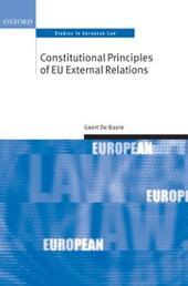 Constitutional Principles of EU External Relations