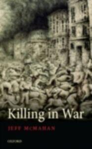 Ebook in inglese Killing in War McMahan, Jeff