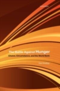 Ebook in inglese Battle Against Hunger: Choice, Circumstance, and the World Bank Sridhar, Devi
