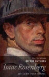 Foto Cover di Isaac Rosenberg: 21st-Century Oxford Authors, Ebook inglese di  edito da OUP Oxford