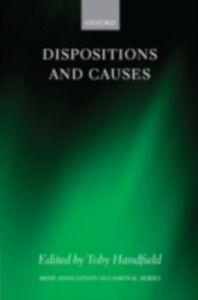 Foto Cover di Dispositions and Causes, Ebook inglese di  edito da OUP Oxford