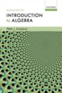 Ebook in inglese Introduction to Algebra Cameron, Peter J.