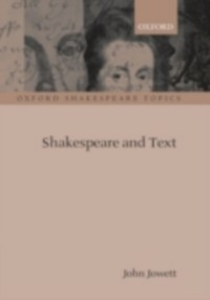 Ebook in inglese Shakespeare and Text JOHN, JOWETT