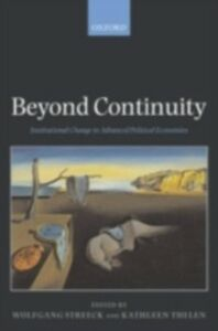Ebook in inglese Beyond Continuity Institutional Change in Advanced Political Economies WOLFGANG, STREECK