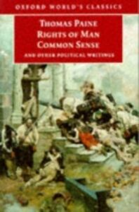 Ebook in inglese Rights of Man, Common Sense, and Other Political Writings Paine, Thomas