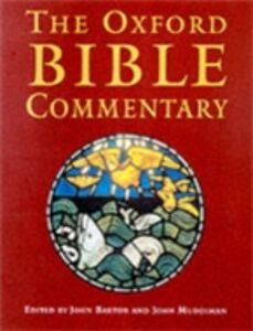 Foto Cover di Oxford Bible Commentary, Ebook inglese di BARTON JOHN, edito da Oxford University Press