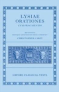 Ebook in inglese Lysiae Orationes cum Fragmentis -, -