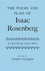 Ebook in inglese Poems and Plays of Isaac Rosenberg: A Critical Edition -, -