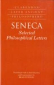 Ebook in inglese Seneca: Selected Philosophical Letters: Translated with introduction and commentary Inwood, Brad