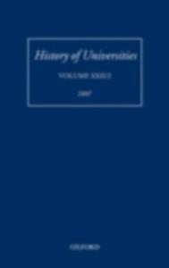Ebook in inglese History of Universities: Volume XXI/2 -, -