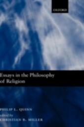 Essays in the Philosophy of Religion