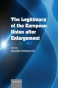 Ebook in inglese Legitimacy of the European Union After Enlargement