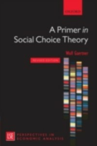 Ebook in inglese Primer in Social Choice Theory: Revised Edition Gaertner, Wulf