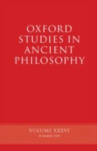 Ebook in inglese Oxford Studies in Ancient Philosophy Volume XXXIV -, -