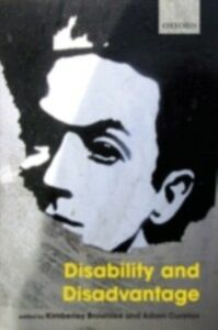 Ebook in inglese Disability and Disadvantage -, -