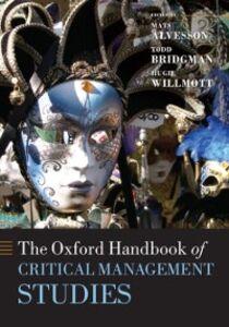Ebook in inglese Oxford Handbook of Critical Management Studies -, -
