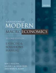 Ebook in inglese Exercise and Solutions Manual to Accompany Foundations of Modern Macroeconomics Heijdra, Ben J. , Reijnders, Laurie , Romp, Ward