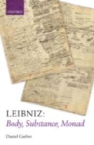 Ebook in inglese Leibniz: Body, Substance, Monad Garber, Daniel