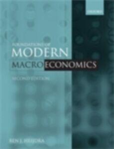 Foto Cover di Foundations of Modern Macroeconomics, Ebook inglese di Ben J. Heijdra, edito da OUP Oxford