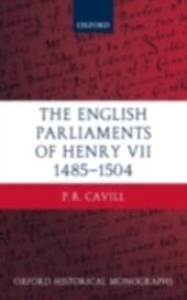English Parliaments of Henry VII 1485-1504