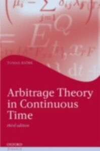 Ebook in inglese Arbitrage Theory in Continuous Time Bj&ouml , rk, Tomas