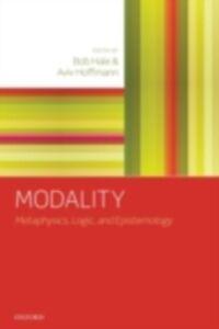 Ebook in inglese Modality: Metaphysics, Logic, and Epistemology -, -
