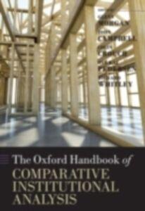 Foto Cover di Oxford Handbook of Comparative Institutional Analysis, Ebook inglese di  edito da OUP Oxford