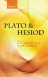 Foto Cover di Plato and Hesiod, Ebook inglese di  edito da OUP Oxford