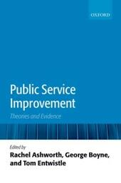 Public Service Improvement: Theories and Evidence