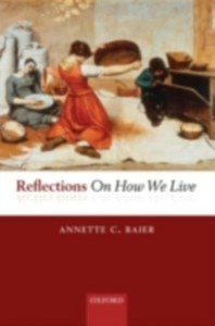 Ebook in inglese Reflections On How We Live Baier, Annette
