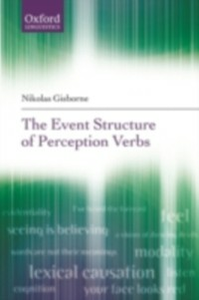 Ebook in inglese Event Structure of Perception Verbs Gisborne, Nikolas