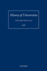 Ebook in inglese History of Universities: Volume XXIV/1&2 -, -