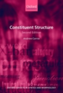 Ebook in inglese Constituent Structure Carnie, Andrew