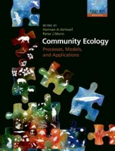 Ebook in inglese Community Ecology: Processes, Models, and Applications