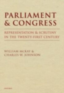 Ebook in inglese Parliament and Congress Johnson, Charles W. , McKay, William