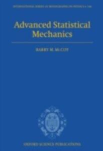 Ebook in inglese Advanced Statistical Mechanics McCoy, Barry M