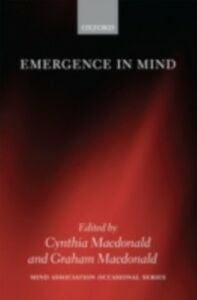Ebook in inglese Emergence in Mind -, -