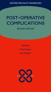 Ebook in inglese Post-operative Complications -, -