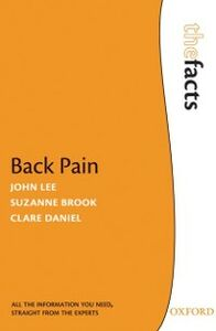 Ebook in inglese Back Pain Brook, Suzanne , Daniel, H. Clare , Lee, John