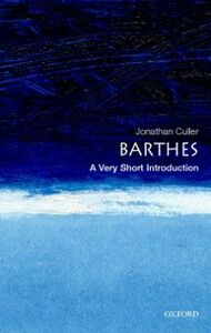 Ebook in inglese Barthes: A Very Short Introduction Culler, Jonathan
