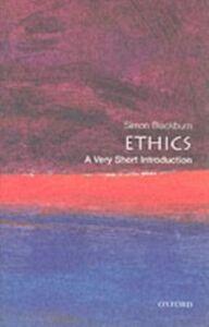 Foto Cover di Ethics: A Very Short Introduction, Ebook inglese di Simon Blackburn, edito da OUP Oxford