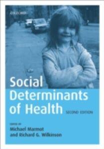 Foto Cover di Social Determinants of Health, Ebook inglese di  edito da OUP Oxford